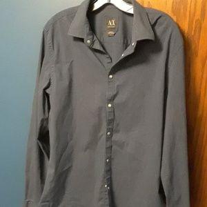 Armani Exchange long sleeve shirt sz L